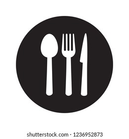 Restaurant icon vector isolated on white background. Restaurant icon in flat style. Template for app, label, logo, menu and web site. Creative art concept, vector illustration