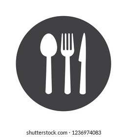 Restaurant icon vector isolated on white background.  Template for app, label, logo, menu and web site. Creative art concept, vector illustration
