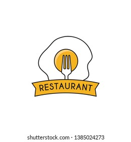 Restaurant Logo Design Vector Template