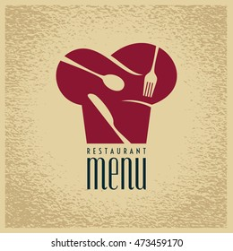 Restaurant menu card design template, Creative vector.