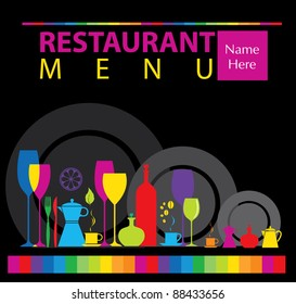 Dinner Party Invitation Card Stock Vectors Images Vector