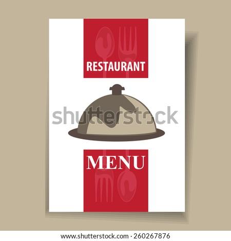 restaurant menu design template stock vector royalty free