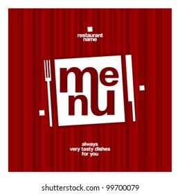 Restaurant menu square card design template mock up  sc 1 st  Shutterstock & Square Plate With Food Stock Vectors Images \u0026 Vector Art | Shutterstock