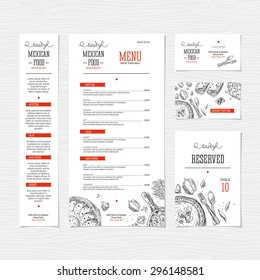 Food Menu Ideas Images, Stock Photos & Vectors | Shutterstock