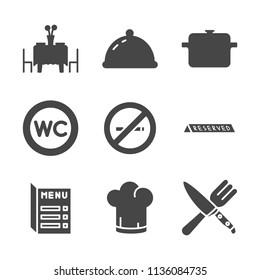 Restaurant solid icon