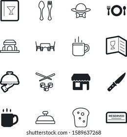 restaurant vector icon set such as: sharp, butcher, pictogram, bow, coffe, gourmet, sushi, delicious, loaf, market, suit, style, tuxedo, architecture, bean, wedding, steel, reservation, cutlery, fish