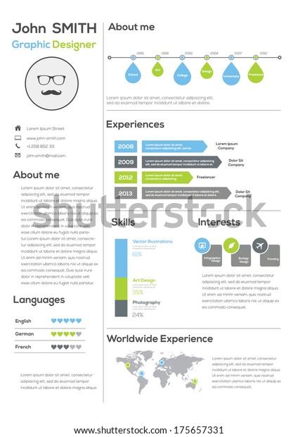 Contoh Desain CV Menarik