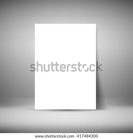 Mock Resume | Resume Mock Stock Vektorgrafik Lizenzfrei 417484300 Shutterstock