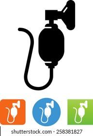 Resuscitator / oxygen symbol