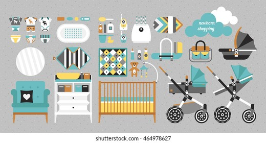 Retail and wholesale kids shop.