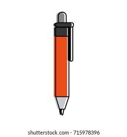 retractable pen icon image