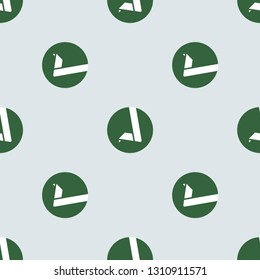 Retro 8 bit old computer game texture. Repeating flat Vertcoin VTC icon background pattern. Design for wrapping paper or greeting card. Pixel art, inventory item.