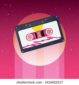 retro 80s style vector ilustration vector ilustration