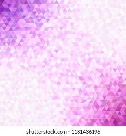 Retro abstract triangle background - vector graphic design