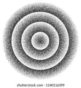 Retro background 1980s style. Dotwork stipplism 80s party background . Vector illustration EPS 10