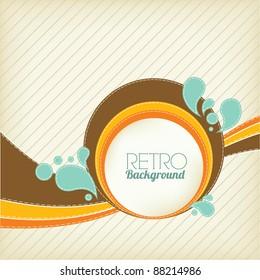 Retro Background Design