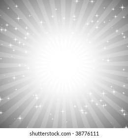 Retro background flare