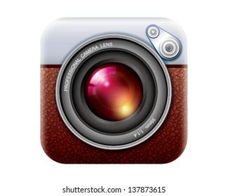 Retro camera len's APP