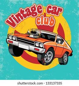 retro car club