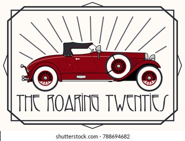 Retro Car from the Roaring Twenties