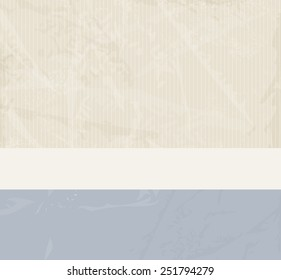 Retro card background - soft abstract vintage design