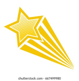 shooting stars vector images stock photos vectors shutterstock rh shutterstock com shooting star logo clip art shooting star logo clip art