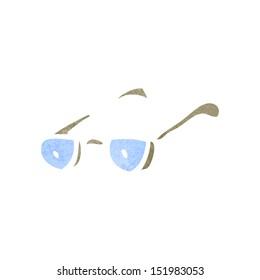retro cartoon spectacles