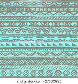 retro color tribal Navajo seamless pattern. fresh summer aztec geometric print. ethnic hipster backdrop.