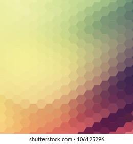 retro colorful background