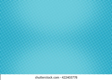 retro comic blue background raster gradient halftone