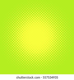 Retro comic pop background dotted halftone design
