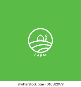 Retro Farm Logo