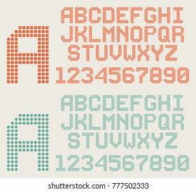 Dotted Font Images, Stock Photos & Vectors | Shutterstock