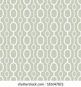 Retro geometric background.  Seamless vector pattern.
