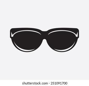 Retro glasses icon