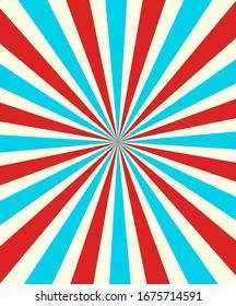 Retro graphic Design poster vector illustration.