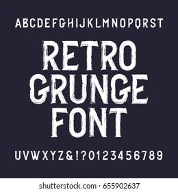 Grunge Font Images, Stock Photos & Vectors | Shutterstock