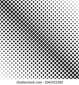 Retro halftone square pattern background - vector illustration