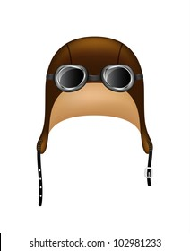 Retro  hat and goggles