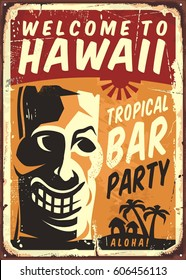 tiki hawaii images stock photos vectors shutterstock