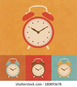 Retro Icons - Classic Alarm Clock