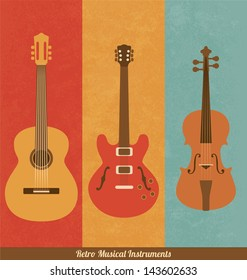 Retro Icons - Guitar Set