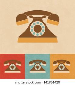 Retro Icons - Telephone