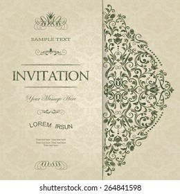 Wedding Card Template Images Stock Photos Vectors Shutterstock