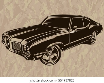 Royalty Free Muscle Car Images Stock Photos Vectors Shutterstock