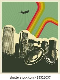 Retro Music City
