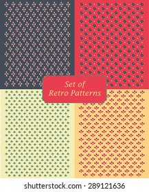 Retro pattern's unit collection