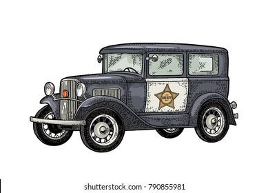 Im 225 Genes Fotos De Stock Y Vectores Sobre Old Police Car