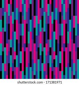 Retro purple and pink stripes pattern