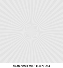 Retro ray background stylish gray color illustration